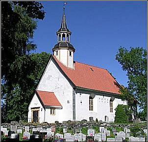 Lade gård og Lade kirke, Trondheim, Sør Trøndelag. Norsk
